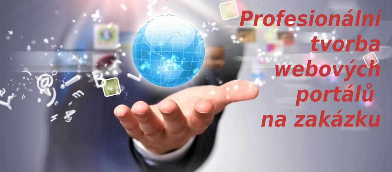 Profesionální tvorba webových portálů